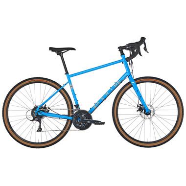 Vélo de Gravel MARIN BIKES FOUR CORNERS Shimano Sora 30/39/50 Bleu 2020